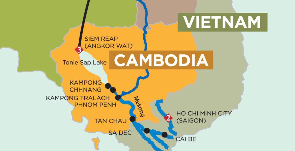 mappa vietnam